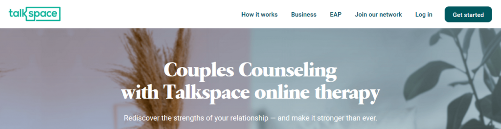 talkspace couples therapy site